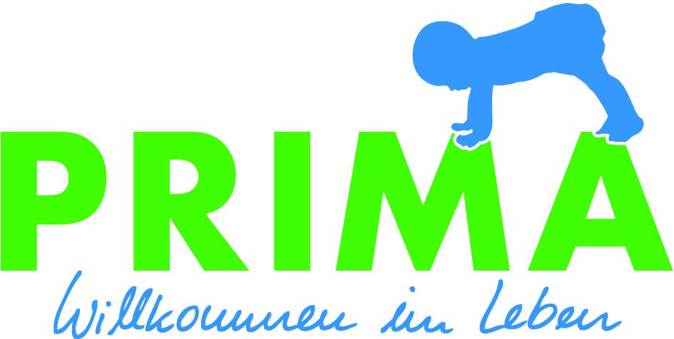 Logo Prima Willkommen im Leben