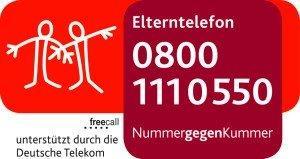 Logo Elterntelefon 08001110550 Nummer gegen Kummer
